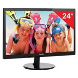 "Монитор LED 24"" (61 см) PHILIPS 246V5LSB, 1920x1080, TN+film, 16:9, DVI, D-Sub, 250 cd, 5 ms, черный"