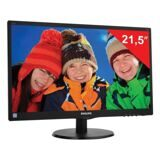 "Монитор LED 21,5"" (55 см) PHILIPS 223V5LSB2, 1920x1080, TN+film, 16:9, D-Sub, 200 cd, 5 ms, черный"