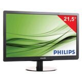"Монитор LED 21,5"" (55 см) PHILIPS 226V4LAB, 1920x1080, TN+film, 16:9, DVI, D-Sub, 250 cd, 5 ms, черный"
