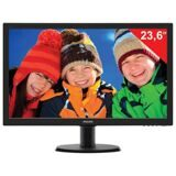 "Монитор LED 23,6"" (60 см) PHILIPS TN+film, 16:9, DVI, HDMI, D-Sub, 250 cd, 1920x1080, 5 ms, черный"