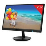 "Монитор LED 21,5"" (55 см) PHILIPS 224E5QHSB, 1920x1080, AH-IPS, 16:9, DVI, D-Sub, 250 cd, 14 ms, черный"
